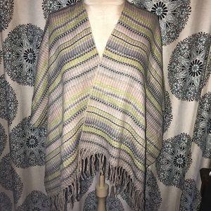 Free People shawl sweater